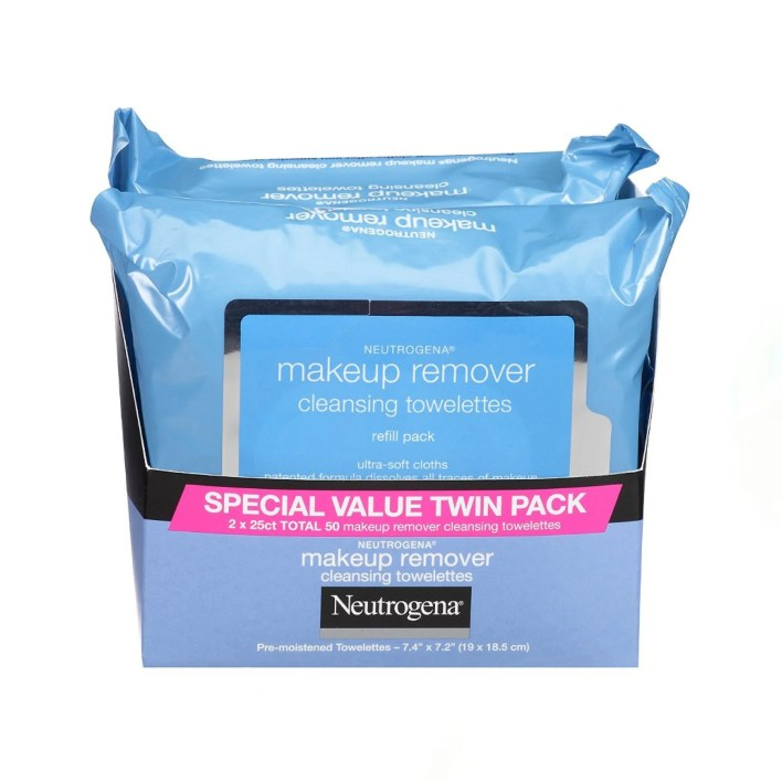 package of makeup remover wipes