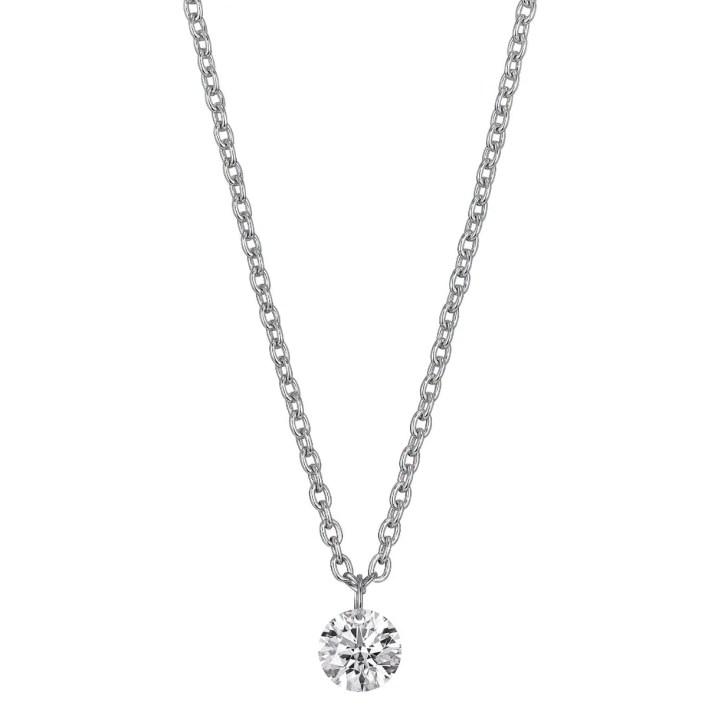 Lightbox Lab-Grown Diamond 1/2ct. Pierced Gold Pendant