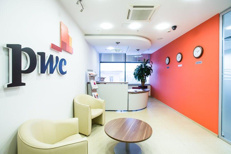 PwC Office Reception Area PwC Office Photo Glassdoor