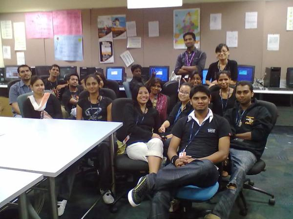 My Training Group... - Firstsource Solutions Office Photo ...