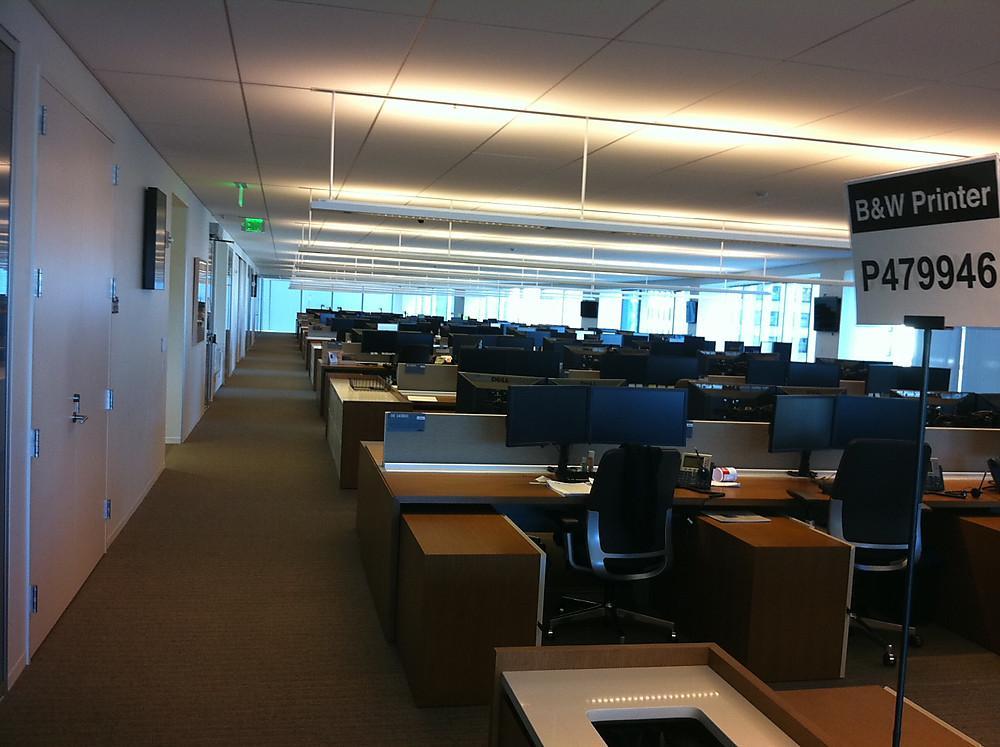 Developer Workstations Goldman Sachs Office Photo