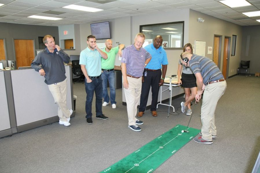 Martin Hall provides putting       GolfNow Office Photo   Glassdoor Martin Hall provides putting tips for our Golfer Care team   GolfNow    Orlando  FL
