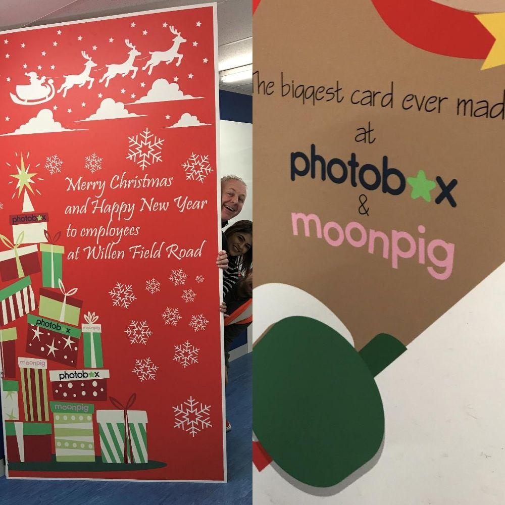 Moonpig christmas cards uk inviletter largest ever christmas cards moonpig office photo glassdoor co uk spiritdancerdesigns Choice Image