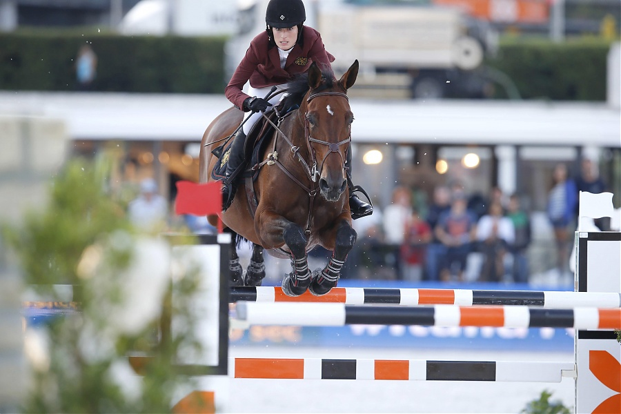 Jessica Springsteen Davendi S Longines Global Champions Tour Roma