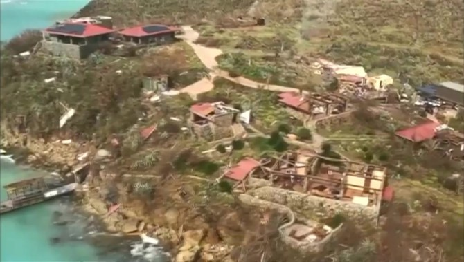 Αποτέλεσμα εικόνας για Hurricane Irma ravages the Virgin Islands (video)