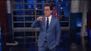Stephen Colbert says he was followed by intelligence agents in Russia