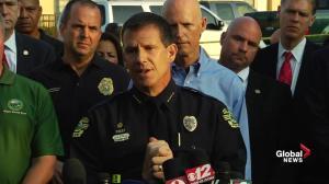 Orlando shooting: Police officer recovering in hospital after bullet to Kevlar helmet