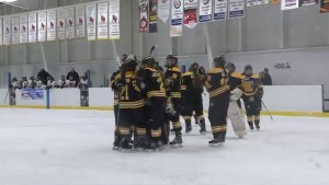 Big win for the Kingston Junior Ice Wolves