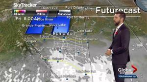 Edmonton Weather Forecast: Nov. 1