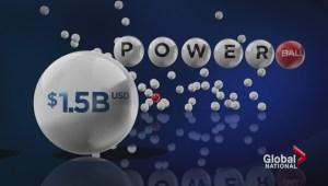 Canadians pin hopes on $1.5 billion Powerball jackpot