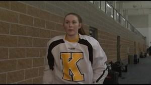 Kingston female hockey star Darcie Lappan is headed south of the border