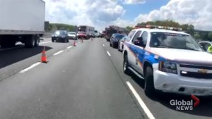 4-year-old in life-threatening condition after Hwy. 401 crash