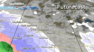 Saskatoon weather outlook: snow, rain and a big cool down ahead