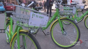 Calgary's new bike-share program faces winter test
