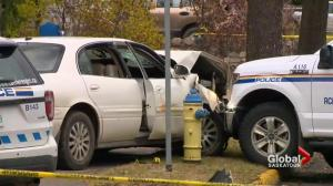 Driver involved in vehicle pursuit dies after Battlefords RCMP officer fires