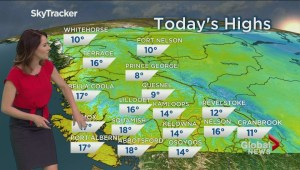 B.C. evening weather forecast: Mar 27