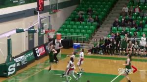 Saskatchewan Huskies lose 93-85 to Winnipeg Wesmen