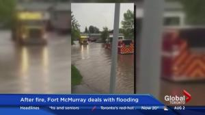 Fort McMurray cleaning up after torrential rains, flooding