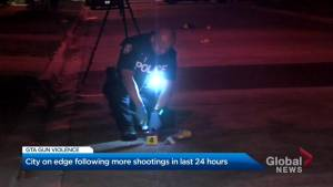 Toronto residents on edge following more shootings in the last 24 hours