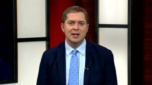 Opposition Leader Andrew Scheer lays out his conservative message on a number of issues