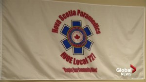 Nova Scotia paramedic community mourns on of their own
