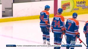 7th annual Heroes Hockey Challenge pits former Oilers against soldiers