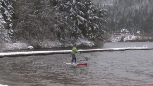 Parts of BC have received an early blast of winter.