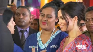 Meghan Markle rushed out of Fijian market over security concerns