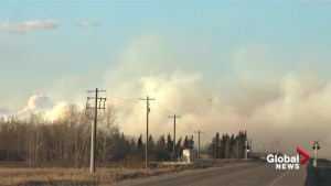Crews battle grass fire in Strathcona County