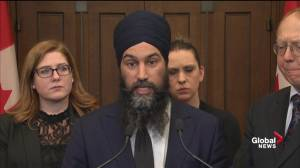 Jagmeet Singh calls for a national public inquiry into SNC-Lavalin scandal