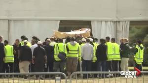 New Zealand shooting: First two victims of mosque attack laid to rest in Christchurch