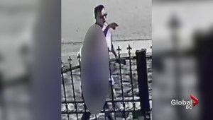 Vancouver police release images sexual assault suspect