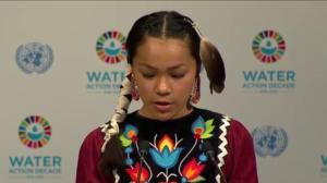Canadian teenage water warrior addresses UN