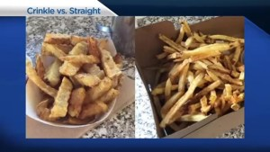 Crinkle-Cut or Straight-Cut Fries? The great French fry debate