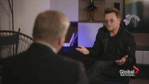 Rockstar Bono on dealing with Syrian refugees