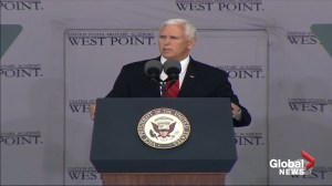 Mike Pence to West Point grads: Expect to see combat