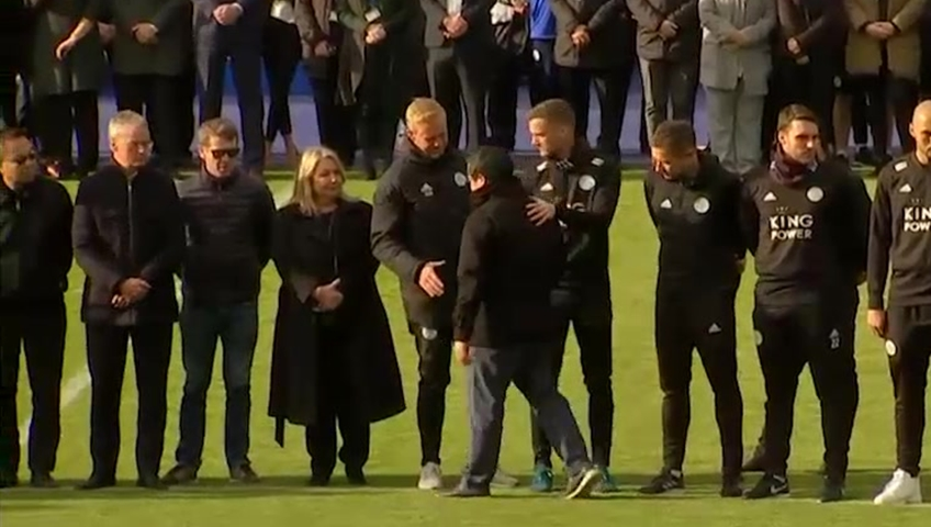 Mahrez Gives Emotional Interview After Dedicating Goal To Vichai