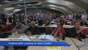 How will the search for a new party leader impact the BC NDP?