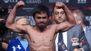 Local community ready to party for Manny Pacquiao