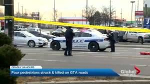 Woman fatally struck by bus in Brampton; 4th fatality in GTA in 24 hours