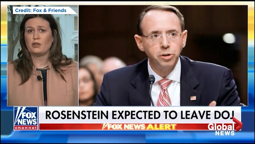 Deputy AG Rod Rosenstein expected to resign next month