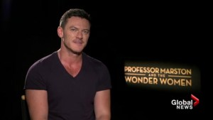 The stars of 'Professor Marston and the Wonder Women' discuss the beginnings of an iconic superhero