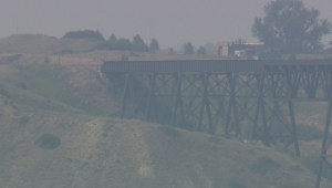 Lethbridge residents not overly concerned with wildfire smoke