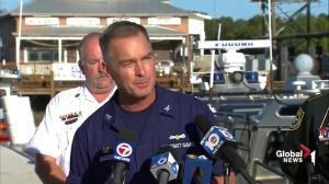 US Coast Guard says other diver aboard Rob Stewart vessel passed out