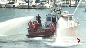 High-tech fireboats officially enter service in Vancouver