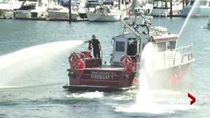 High-tech fireboats officially enter service in Vancouver