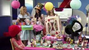 Mother's Day DIY gifts ideas and tea party (05:27)