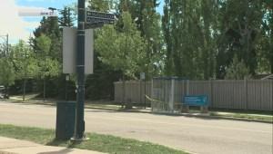 Bus shelters smashed in southwest Edmonton