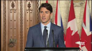 Trudeau says London attacks further proof of Canada, UK close ties