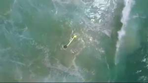 Drone helps to rescue 2 teens off Australian coast